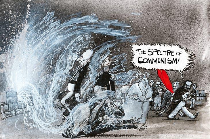 From Martin Rowson's ferocious retelling of The Communist Manifesto.