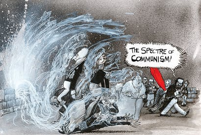 From Martin Rowson's ferocious retelling of The Communist Manifesto.