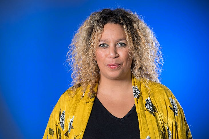 British poet Salena Godden presenter of Mrs Death Misses Death on Radio 4. [Photo: Roberto Ricciuti / Getty Images]