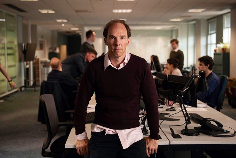 Benedict Cumberbatch as Dominic Cummings in Brexit: The Uncivil War