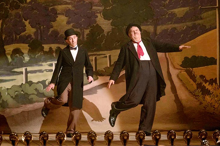 Divine comedy: Steve Coogan as Stan Laurel and John C. Reilly as Oliver Hardy