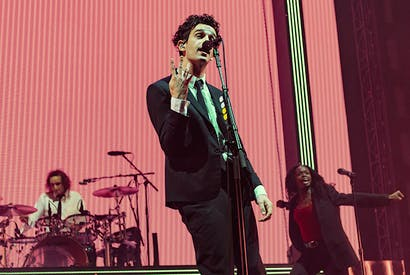 The soul of Lou Reed and the looks of Harry Styles: Matt Healy and the 1975