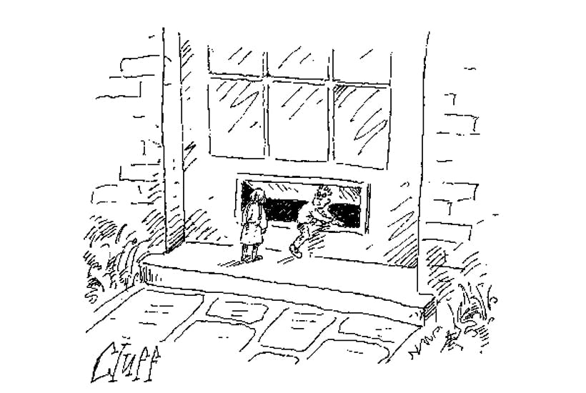 'If they ban ground-level letterboxes we're in serious trouble, Arrietty.'