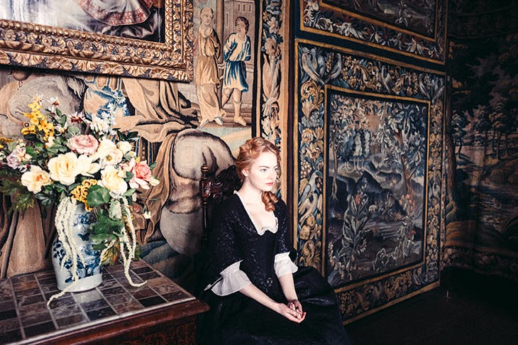 Flat-out fabulous: Emma Stone as Abigail Hill in The Favourite