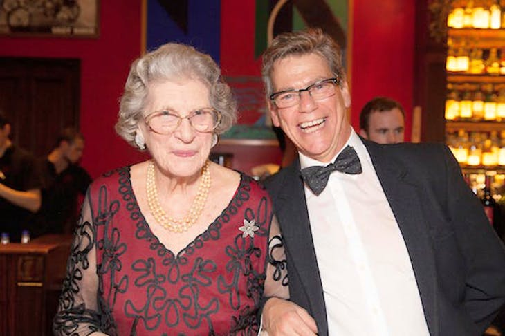 Jeremy Clarke and Baroness Trumpington