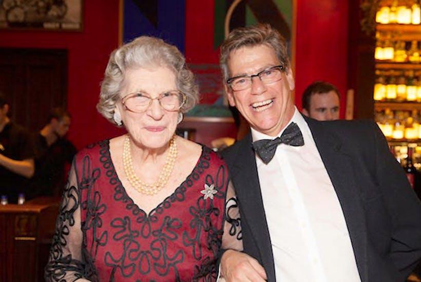 Jeremy Clarke and Baroness Trumpington