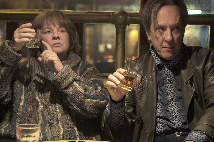 Emotionally devastating: Richard E. Grant and Melissa McCarthy in Can You Ever Forgive Me?