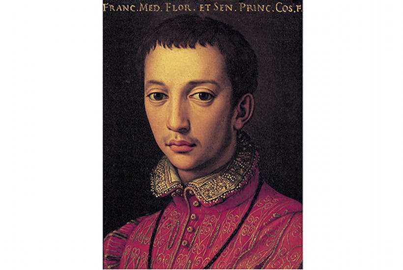 Grand Duke Francesco I de Medici may have been poisoned with arsenic by his brother Ferdinando. Portrait by Agnolo Bronzino