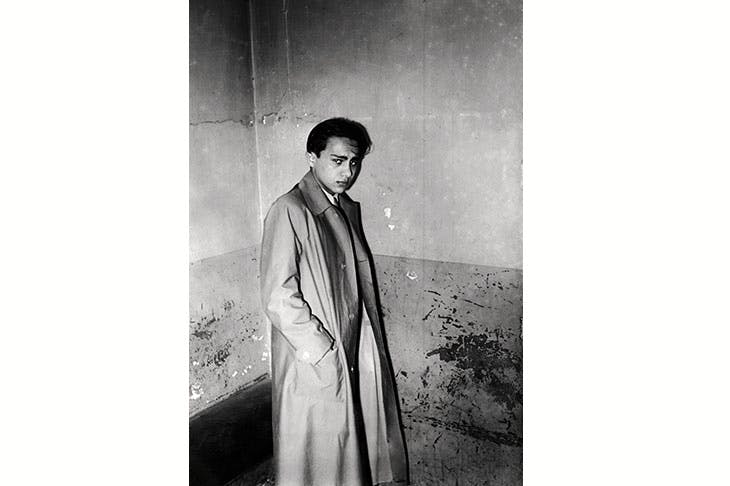 The frightened teenager Herschel Grynszpan, photographed in a Paris police cell. After his transportation to Berlin, he realised that he was being kept alive — 'the safest Jew in Germany' — to appear as star defendant at a grotesque Nazi show trial