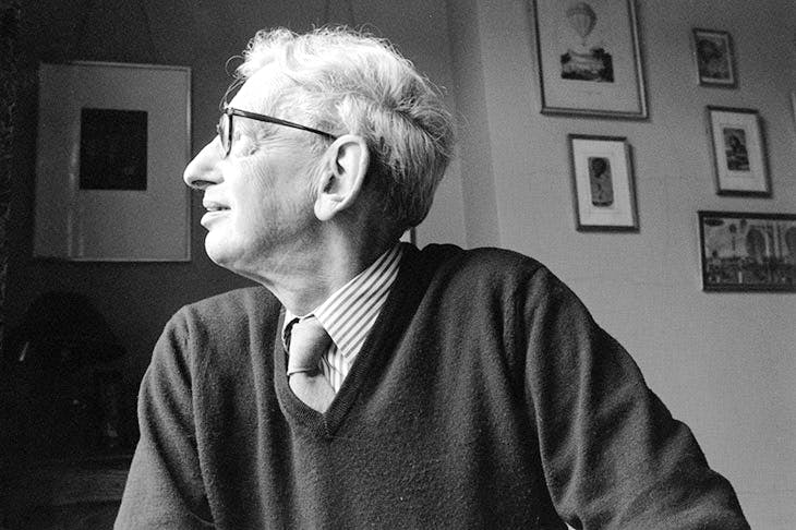 Eric Hobsbawm, photographed in 1996. He admitted late in life that he had developed in youth 'a facility for deleting unpleasant or unacceptable data'