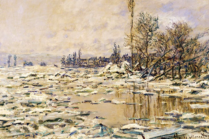 'The Break-up of the Ice' by Claude Monet