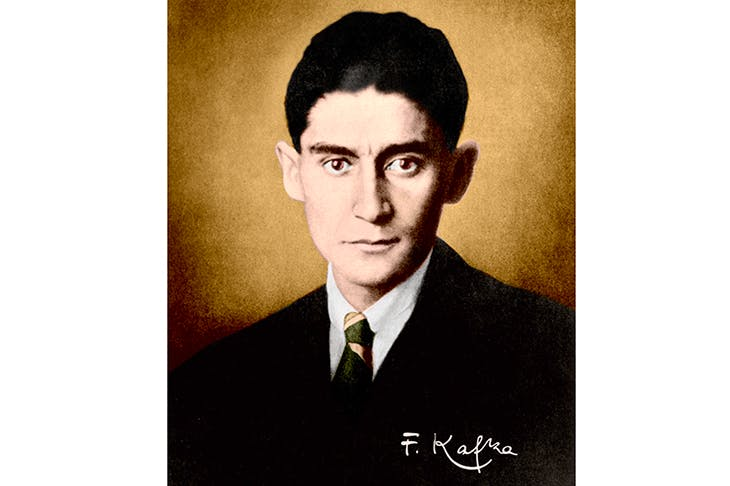 Franz Kafka. Credit: Getty Images