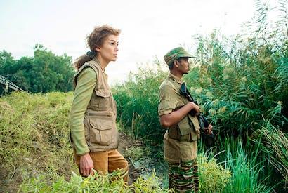 Mesmerising: Rosamund Pike as Marie Colvin in A Private War