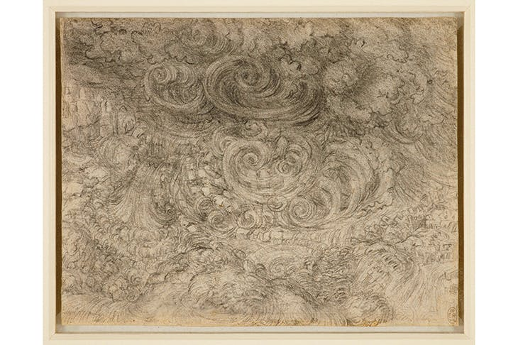 A swirl of scienza and fantasia: 'A Deluge', c.1517–18, by Leonardo da Vinci