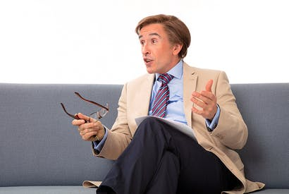 Second coming: Steve Coogan as Alan Partridge