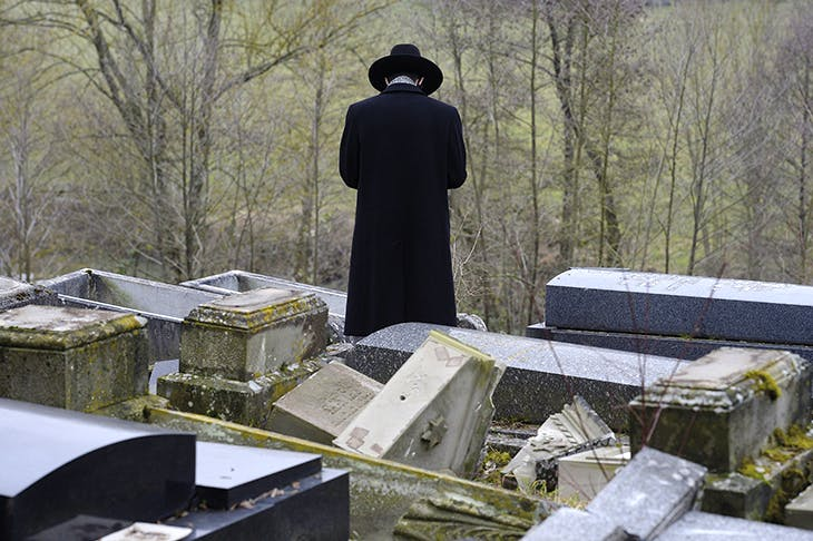Hundreds of graves were vandalised in Sarre-Union's Jewish cemetery in eastern France in February 2015