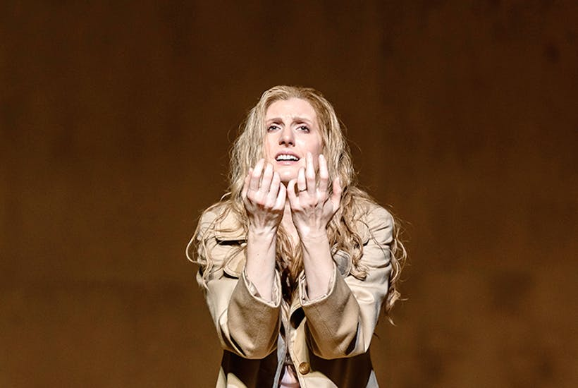 Miraculous: Amanda Majeski as Katya Kabanova in Richard Jones's Royal Opera production