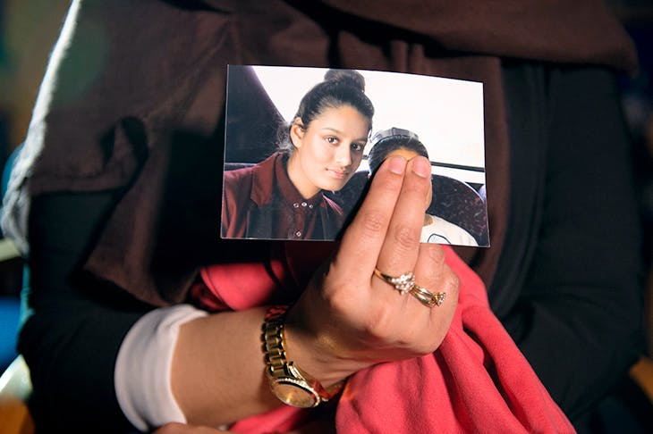 A teenage Shamima Begum, before she left Britain (Getty Images)