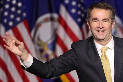 Virginia governor Ralph Northam, who is facing calls to resign after admitting he had worn blackface [WIN McNAMEE/GETTY IMAGES]