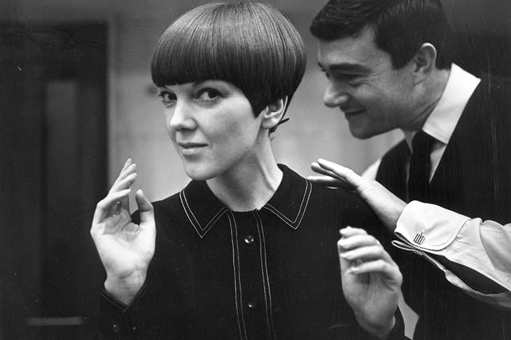 Mary, Mary, quite contrary: Mary Quant and fellow-revolutionary Vidal Sassoon in 1964