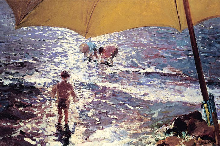 'Afternoon at the Beach in Valencia', 1904, by Joaquin Sorolla