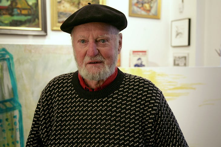 Lawrence Ferlinghetti. Credit: Rex Features