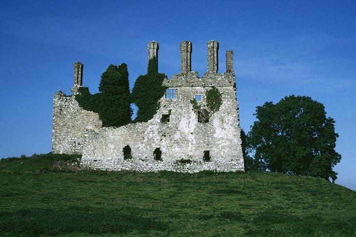 The ruins of Carbury Castle, Co. Kildare