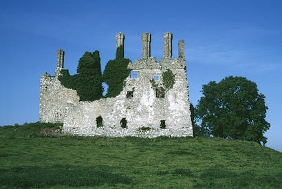 The ruins of Carbury Castle, Co. Kildare