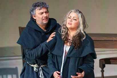 Jonas Kaufmann and Anna Netrebko in Royal Opera's La forza del destino. Photo: Bill Cooper