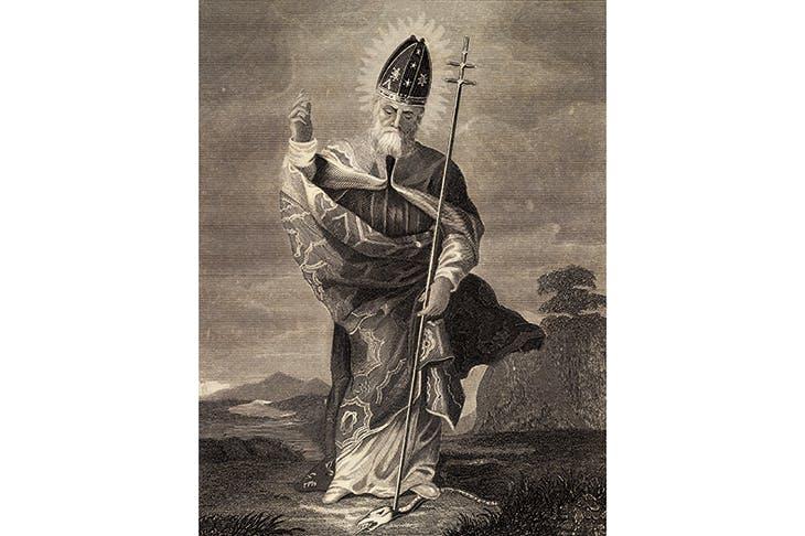 Saint Patrick, apostle of Ireland