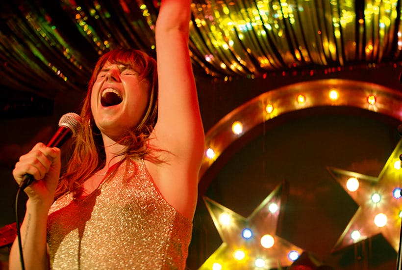 With each song Jessie Buckley practically burns a hole in the screen