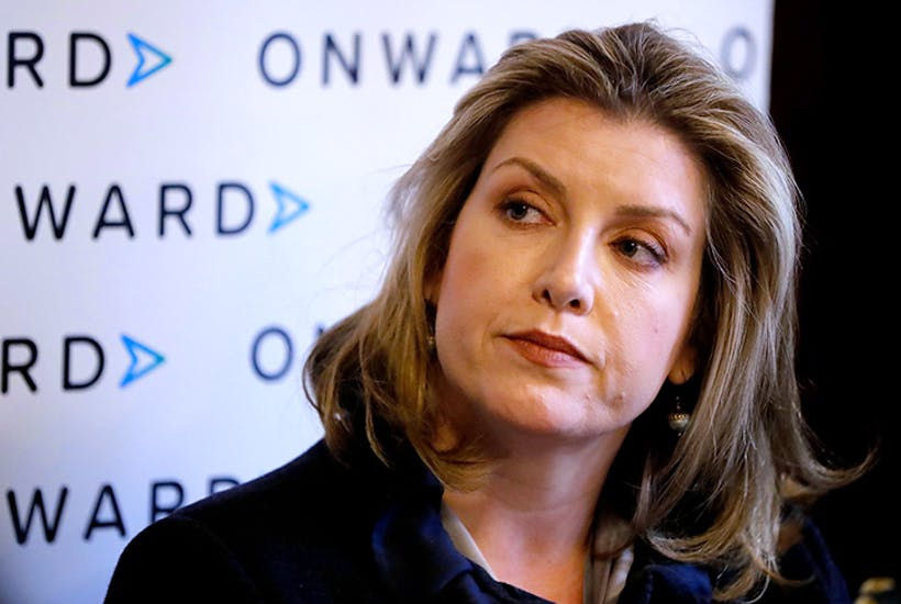 Penny Mordaunt at a meeting of think tank Onward (Getty)