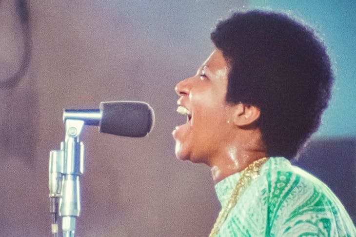 Mighty resurrection: Aretha Franklin in Amazing Grace