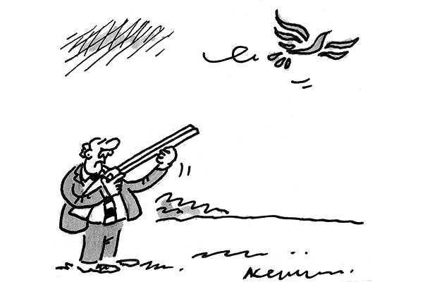 Tory U-turn on shooting birds.