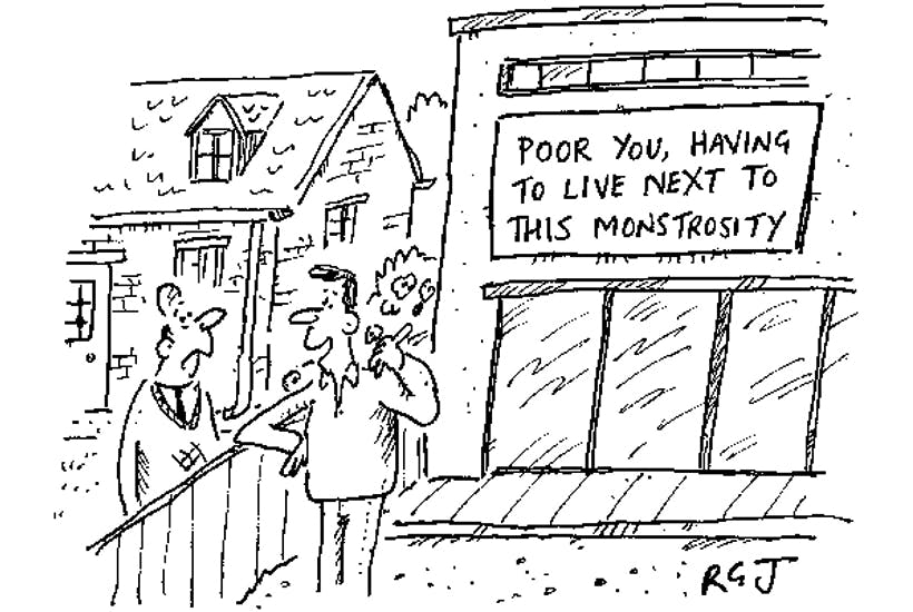 'We got the architect to make sure our extension was designed to be sympathetic.'
