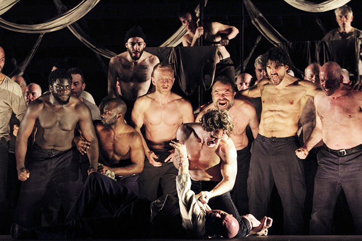 Individual performers make their mark: Jacques Imbrailo as Billy Budd and Alasdair Elliott as Squeak