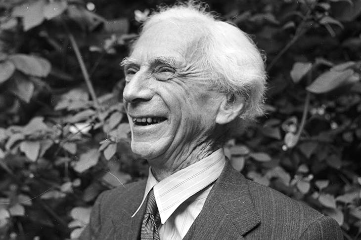 Bertrand Russell was portrayed as Mr Apollinax by T.S. Eliot, wittering incomprehensibly and laughing 'like an irresponsible foetus'