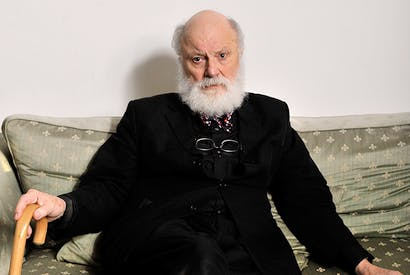 Geoffrey Hill. Credit: Peter Everard Smith