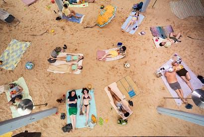 Sun & Sea (Marina), the Golden Lion-winning opera at the Venice Biennale. Photo: © Andrej Vasilenko