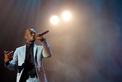 George the Poet in 2014. Photo: Ben A. Pruchnie / Getty Images