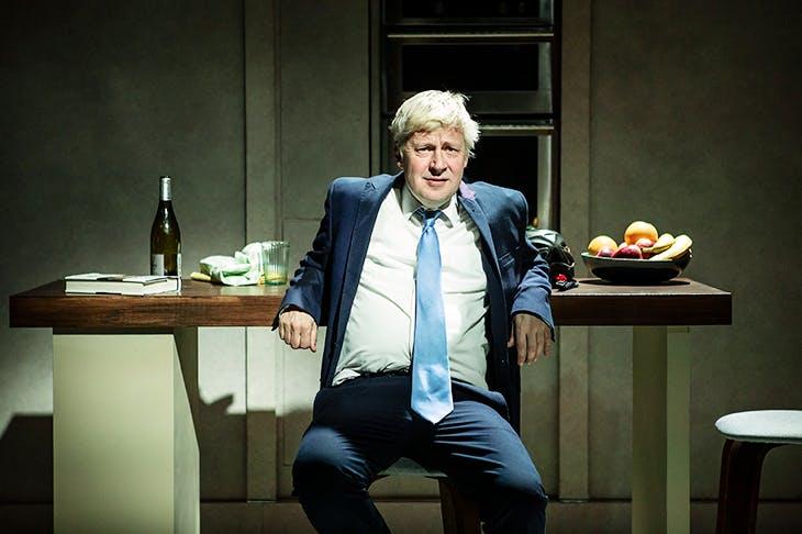Eerily accurate: Will Barton as Boris Johnson in The Last Temptation of Boris Johnson. Image: Pamela Raith