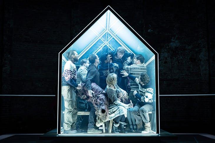 Enclosure act: Es Devlin's terrific set for The Hunt at the Almeida