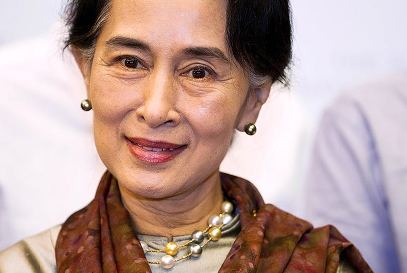 Aung San Suu Kyi in 2013. Credit: Getty Images