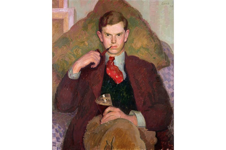 Evelyn Waugh sat for Henry Lamb in his Poole studio in 1928. We went to the pub where Waugh wrote Decline and Fall – interesting!