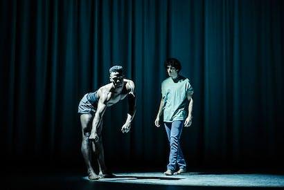 Ira Mandela Siobhan as the horse Nugget, and Ethan Kai as Alan
