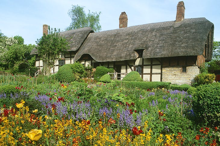 No pigs in sight: Anne Hathaway's Cottage