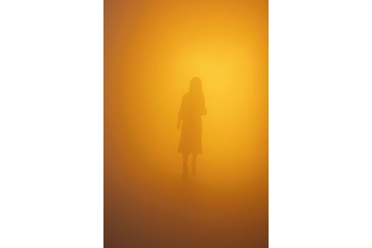 Like walking into a Rothko: 'Din blinde passager' ('Your blind passenger'), 2010, by Olafur Eliasson