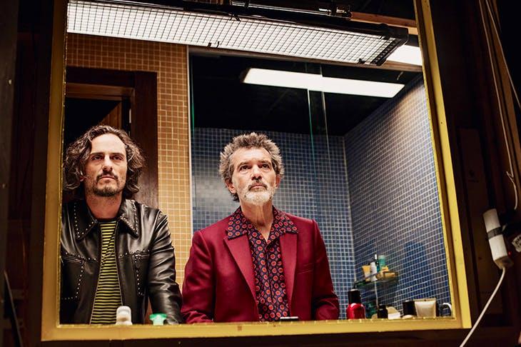 Back together again: Antonio Banderas as Salvador Mallo and Asier Etxeandia as Alberto