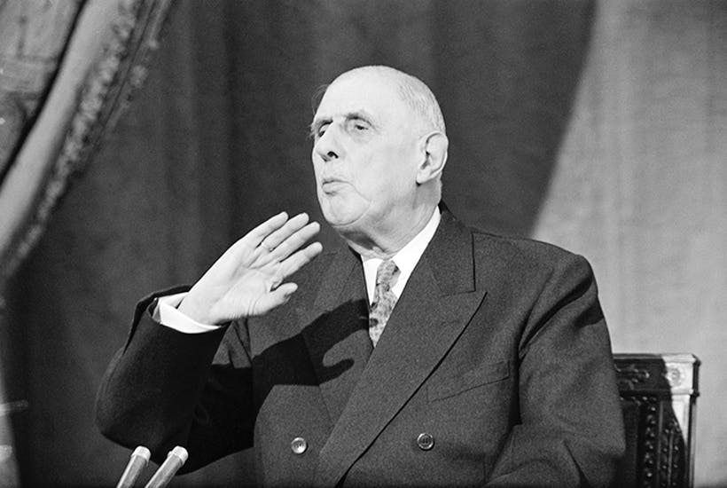 General de Gaulle says 'Non'. Credit: Getty Images