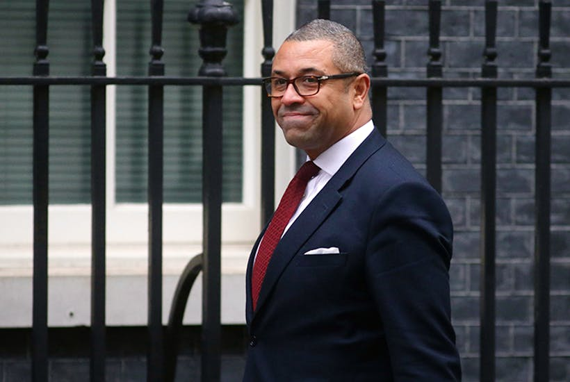 Conservative party chairman James Cleverly (Getty)